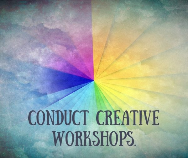 Conduct creative workshops to improve employee engagement.
