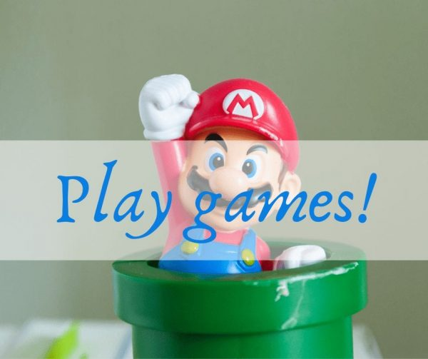 Play games to improve employee engagement.