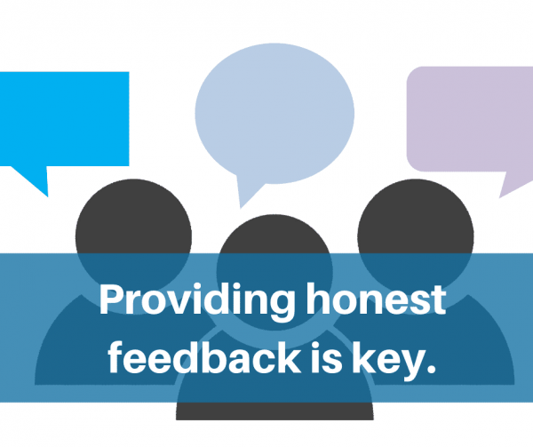 Give employees honest feedback on their work to improve employee engagement.