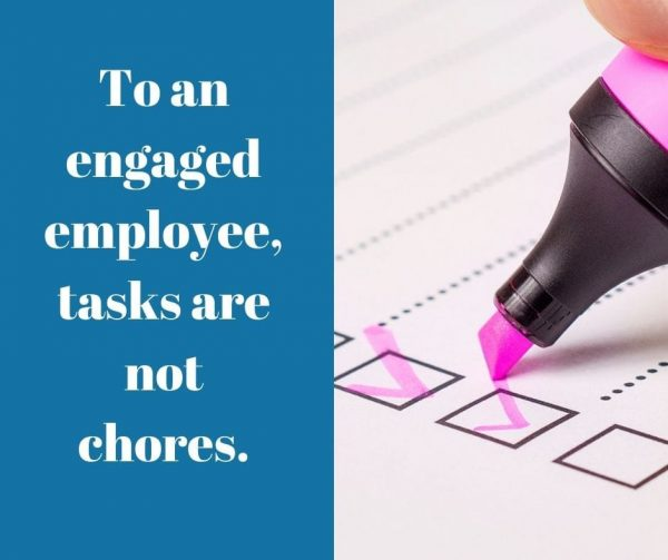Give employees more control over their tasks for better employee engagement.