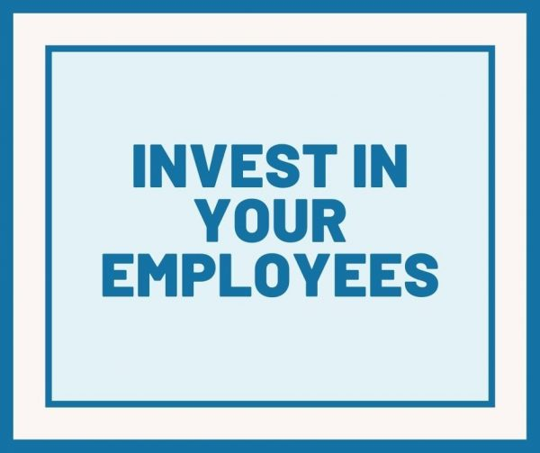 Invest in your employees' growth and learning to improve employee engagement.