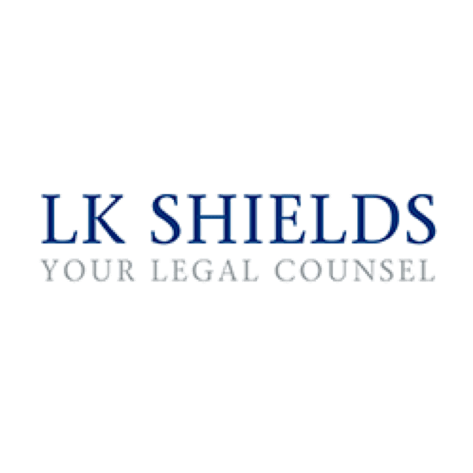 LK Shields Your Legal Counsel logo