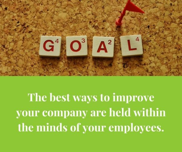 Let employees advise management on crucial decisions to improve employee engagement.