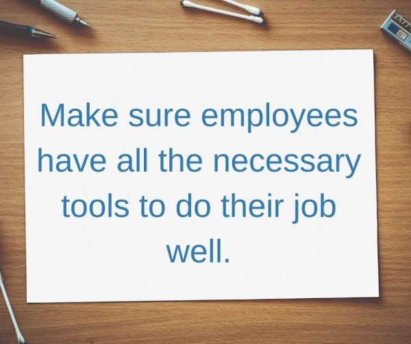Provide employees all the resources they need for better employee engagement.