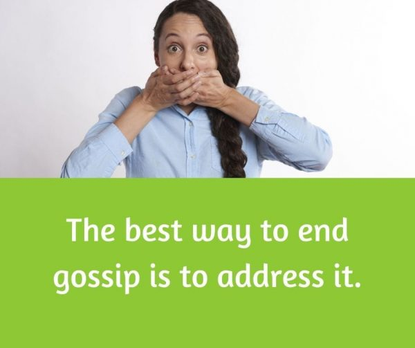 Manage gossip at work to improve employee engagement.