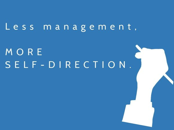 More freedom and self-direction produces accountability and employee engagement.