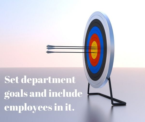 Include all of your employees in your department roadmaps to improve employee engagement.