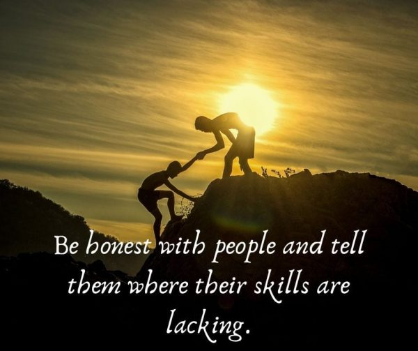 Talk to them about their weaknesses to improve employee engagement.
