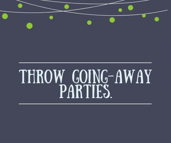 The best way to show employees you appreciate them (and their time at the company) is by throwing going-away parties. That's a crucial aspect of employee engagement.