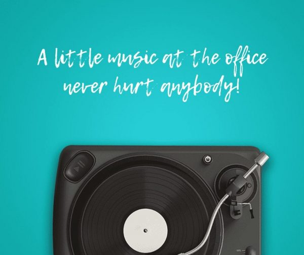 Use music to improve employee engagement.