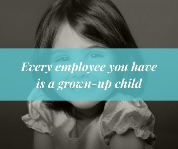 Remember your employees were kids once to improve employee engagement.