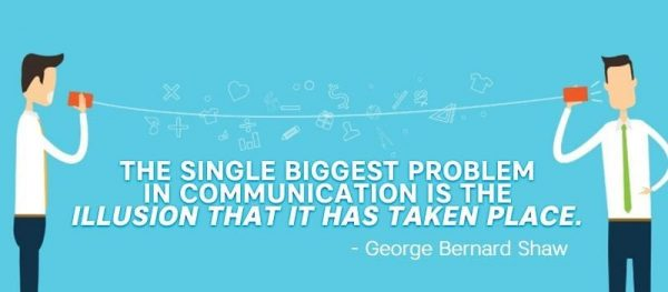 The single biggest problem in communication of Intranet.