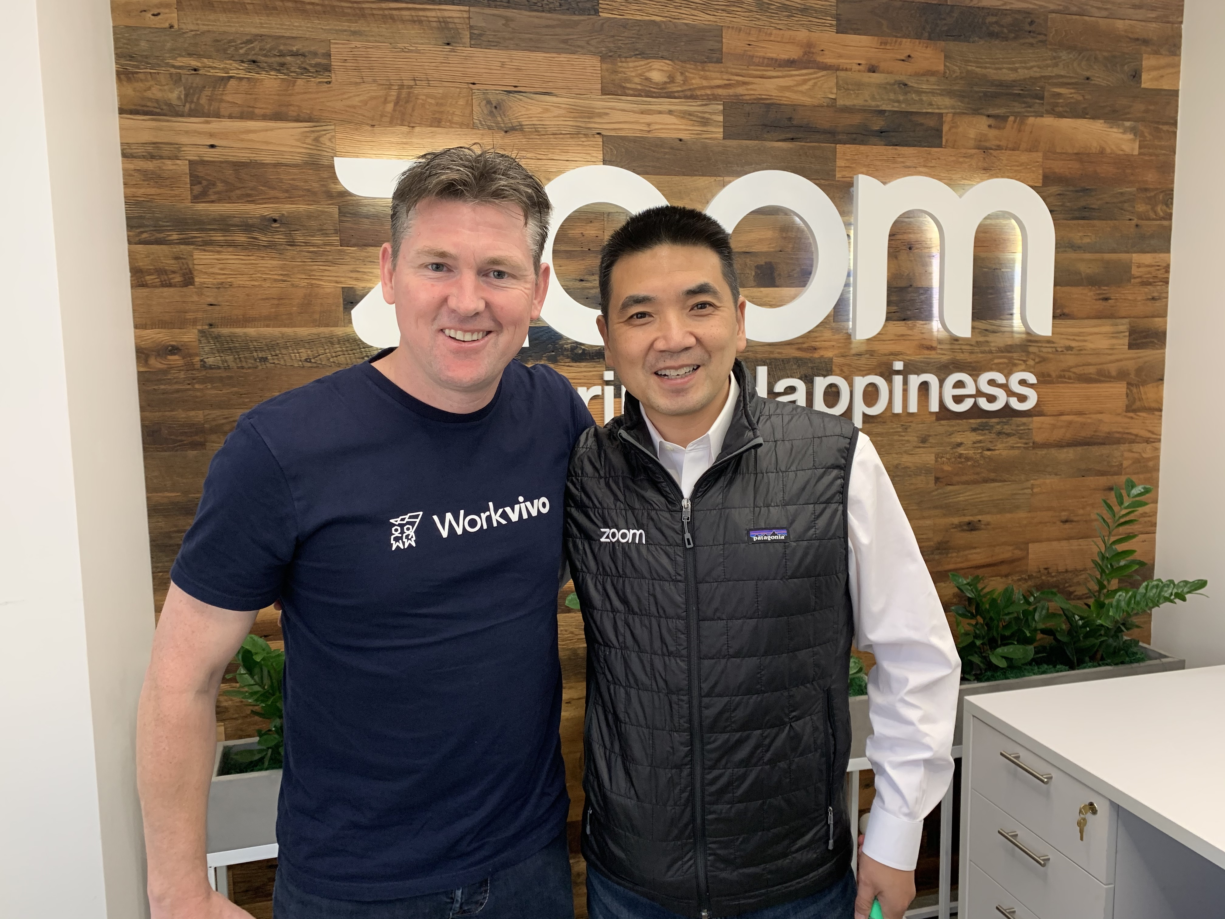 CEO of Zoom invests in Workvivo