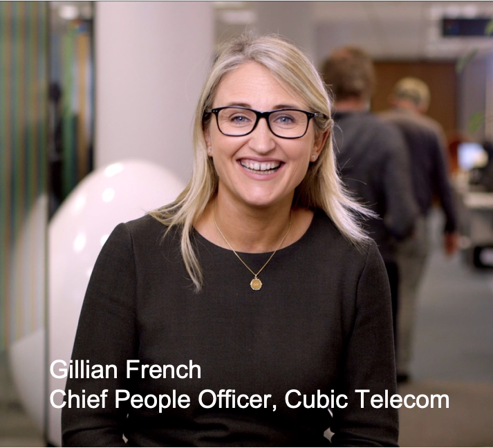 Image of Gillian French- Cubic Telecom CPO