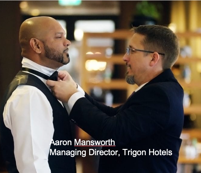 Image of Aaron Mansworth- Trigon Hotels Managing Director